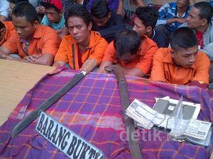 Geng Motor Diciduk Polresta Medan