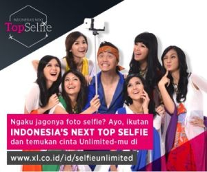 Modal Jago Selfie Bisa Jadi Model Top?