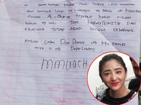 Ini Surat Dewi Persik untuk Fans dan Pacar