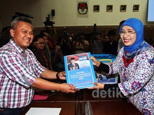 PD Laporkan Dana Kampanye ke KPU