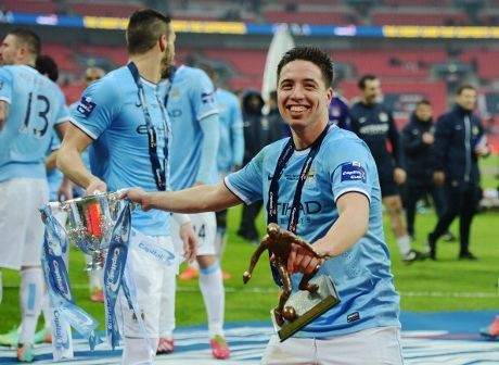 Nasri Akhirnya Juara di Wembley
