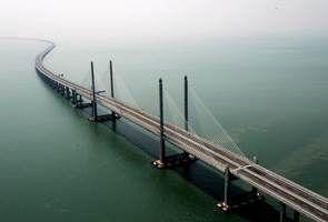 Butuh 6 Tahun, Jembatan 24 Km di Atas Laut Malaysia Akhirnya Rampung
