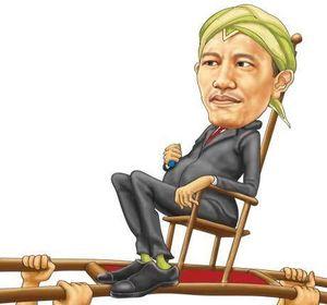 #JKW4P Alias Jokowi For President Puncaki Twitter
