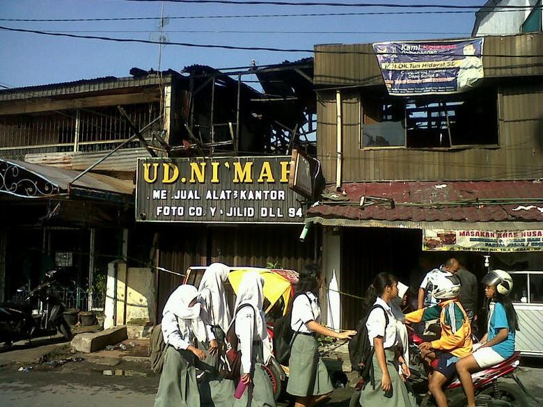 Nenek dan Cucu Tewas Terbakar di Medan