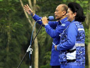 Pramono Edhie di Kampanye Perdana PD