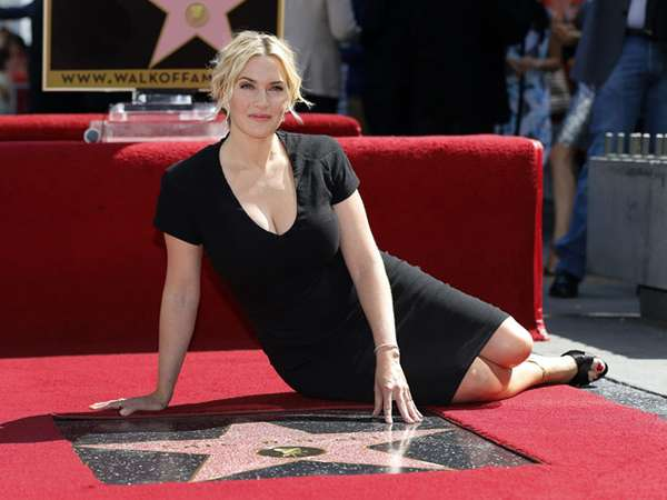 Kate Winslet di Hollywood Walk of Fame
