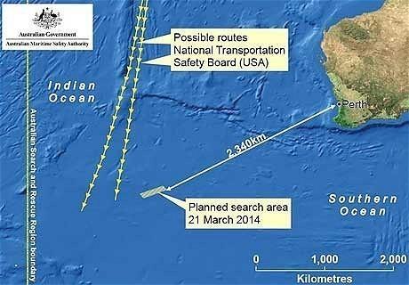 Pencarian MH370 akan Terus Dilakukan Meski Masa Aktif Kotak Hitam Berakhir