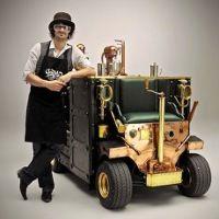 Wah! Ada Es Krim Menyala Dalam Gelap Karya Koki Seniman