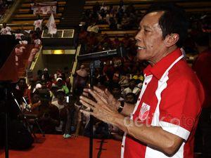 Bang Yos Kampanye PKPI di Istora Senayan