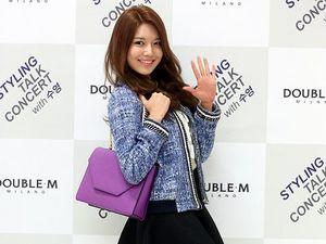 Centilnya Sooyoung SNSD dengan Rok Mini