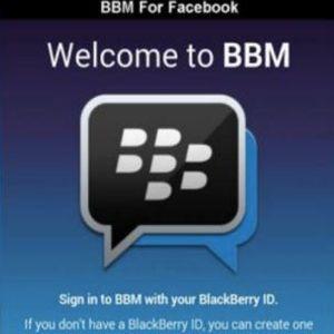 Kampanye Hitam BBM for Facebook