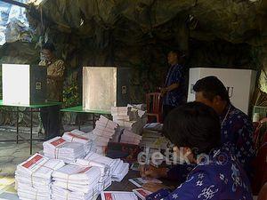 TPS Goa untuk Menarik Pemilih Nyoblos