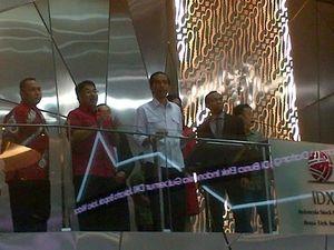 Alasan Direksi BEI Kompak Berbaju Merah Saat Jokowi Blusukan ke Bursa