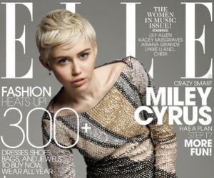 Seksinya Miley Cyrus di Pemotretan Majalah Elle