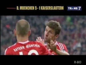 Lumat Kaiserslautern 5-1, Bayern Jumpa Dortmund di Final