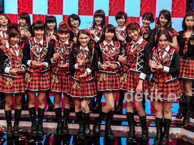 Suasana Pengumuman Hasil Pemilu Single ke-6 JKT48