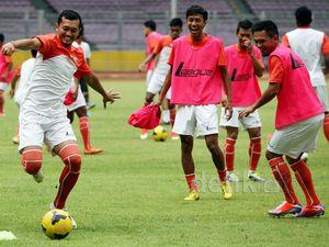 Persija Berlatih Jelang Lawan Gresik United