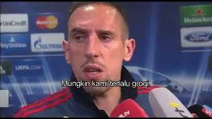 Franck Ribery: Kami Terlalu Grogi