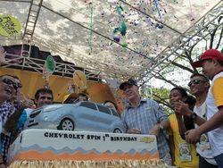 Michael Dunne, Sempat Sakit Saat Peluncuran Chevy Spin