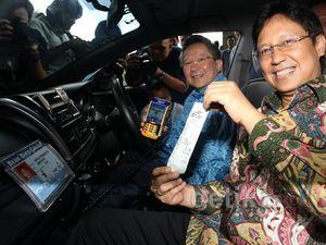 Bayar Taksi Bluebird dengan Kartu Mandiri