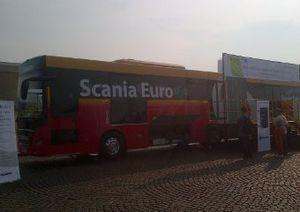 Bus TransJakarta Scania Dirakit di Indonesia