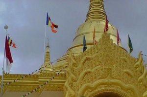 Pagoda Lumbini Berastagi, Kembarannya Pagoda Myanmar