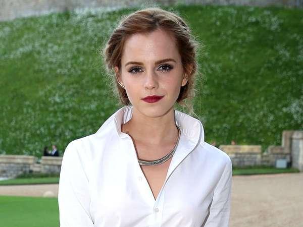 Cantiknya Emma Watson di Acara Amal Pangeran William