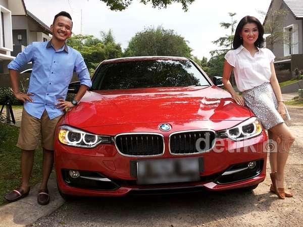 Ini Mobil Mewah Wenda Tan dari Ruben Onsu