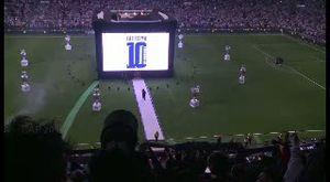 Madrid Arak Trofi Liga Champions di Bernabeu