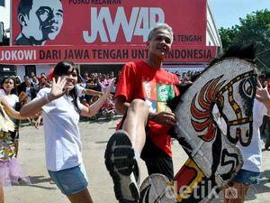 Ganjar Pranowo Main Kuda Lumping