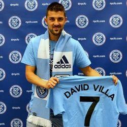David Villa Resmi Jadi Pemain Pertama New York City FC