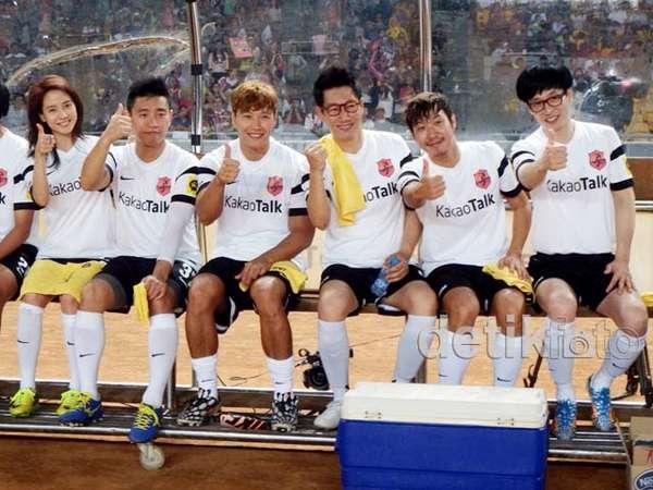 Keseruan Running Man di Asian Dream Cup Jakarta