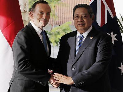 PM Australia Temui SBY di Batam