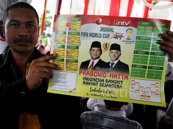 Tim Prabowo-Hatta Manfaatkan Piala Dunia