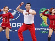 Psy Meriahkan Nobar Korea Selatan vs Rusia di Seoul