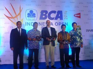 BCA Indonesia Open 2014 Dibuka dengan Meriah