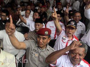 Purnawirawan Baret Merah Dukung Prabowo