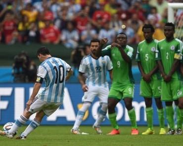 Dengan Gol Messi Menjawab Harapan Argentina