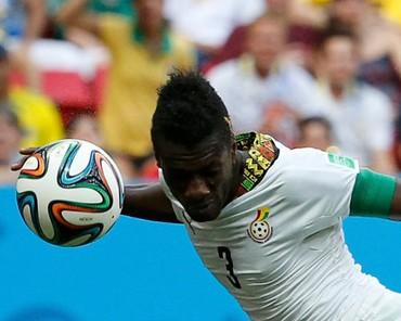 Gyan Kini Pemain Afrika Tertajam di Piala Dunia