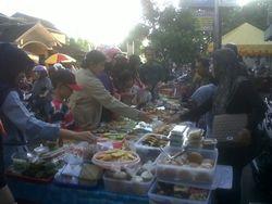 Ngabuburit Makanan Tradisional Yogya di Pasar Sore Jogja Tempoe Doeloe