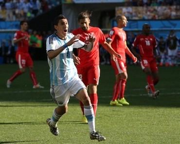Pertahanan Solid Swiss Sulitkan Argentina