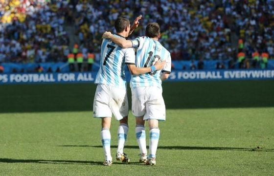 Angel di Maria, Malaikat di Belakang Messi