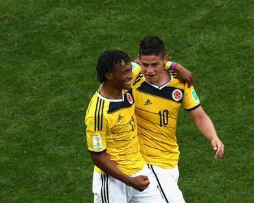 Preview Brasil vs Kolombia: Rodriguez dan Cuadrado Mengancam Kenari Kuning