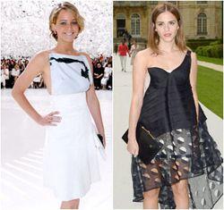 Parade Seleb Stylish di Front Row Christian Dior, Paris Haute Couture