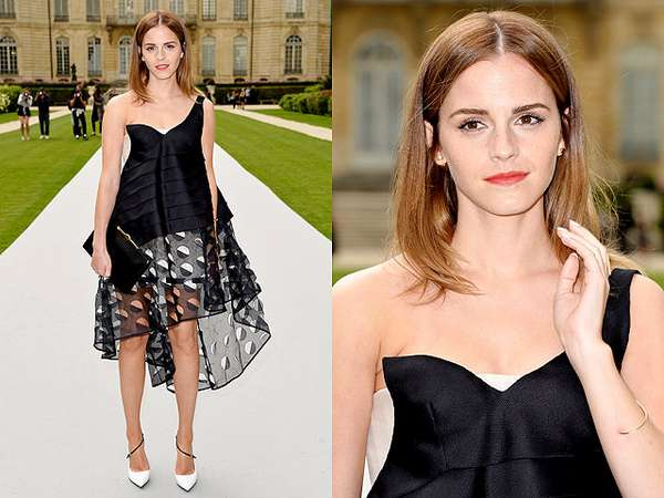 Si Cantik Emma Watson di Paris Fashion Week