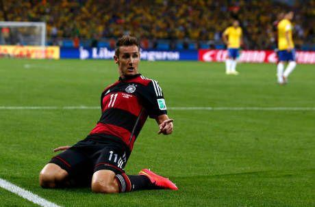Klose Jadi Pencetak Gol Terbanyak Piala Dunia di Tengah Pesta Jerman