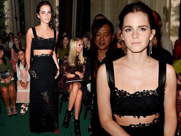 Emma Watson Curi Perhatian di Paris Fashion Week
