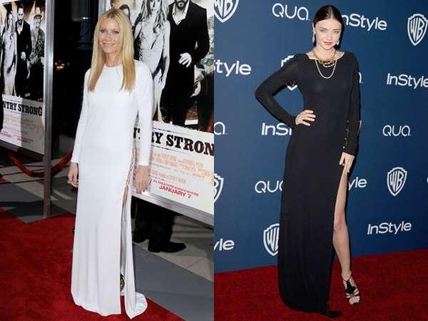 Gwyneth Paltrow vs Miranda Kerr, Who Wore It Better?