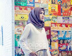Tren Hijab Lebaran: Simple dan Minim Penggunaan Peniti
