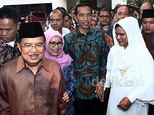 Jokowi-JK Silaturahmi ke Rumah Megawati